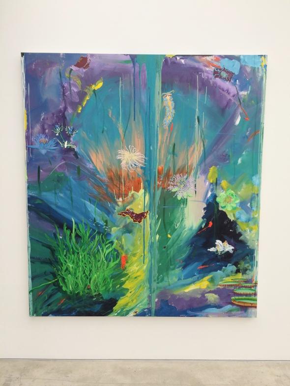 'Etéreo Acrylic' 2015 Encaustic and oil on canvas, 190 x 170 cm © Willian Santos