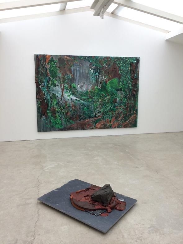 'Recôndito Plasmado' 2018 Exhibition installation view