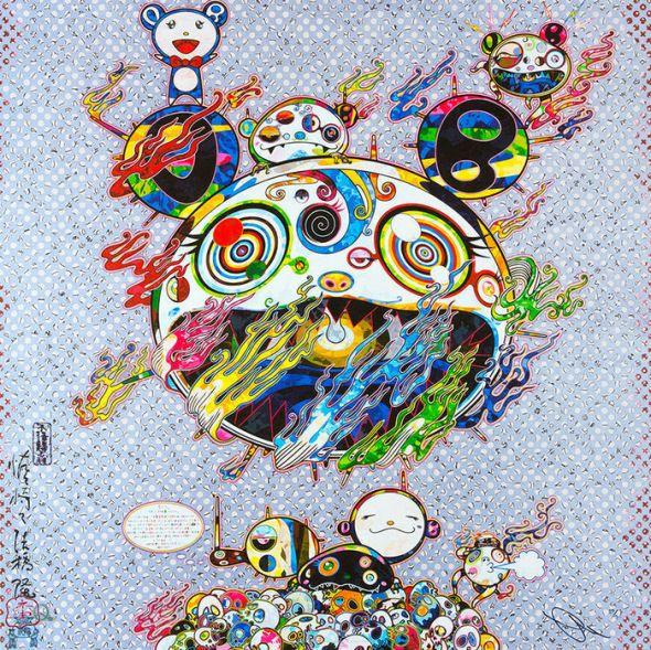 CHAOS by Takashi Murakami, 2016 Offset Lithograph 50.8 × 50.8 cm ©Takashi Murakam