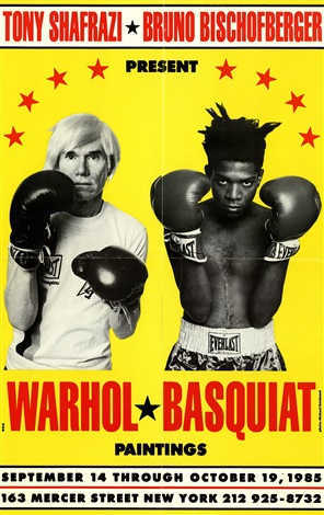 Warhol/ Basquiat Paintings, 1985