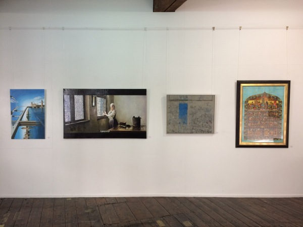 Art Gemini Prize exhibition installation 2018