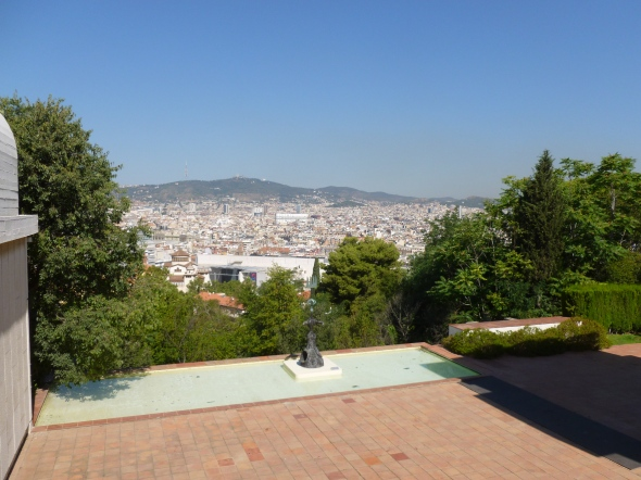 View of Barcelona from the Joan Miró Foundation