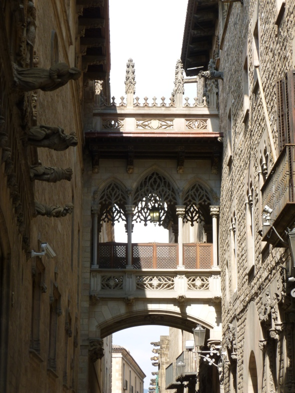Gargoyles in the gothic quarter