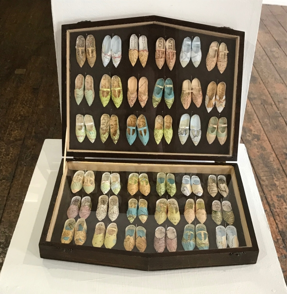'Shoe Collection No's 1 - 72' by Janet Bates